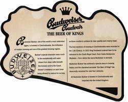 Budweiser Budvar The beer of Kings Budweiser Budvar, one of the world's most celebrated lagers...