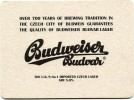 Over 700 years of brewering tradition in the Czech city of Budweis...
