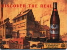Discover the real   Brewed and bottled in Budweis in the Czech Republic
